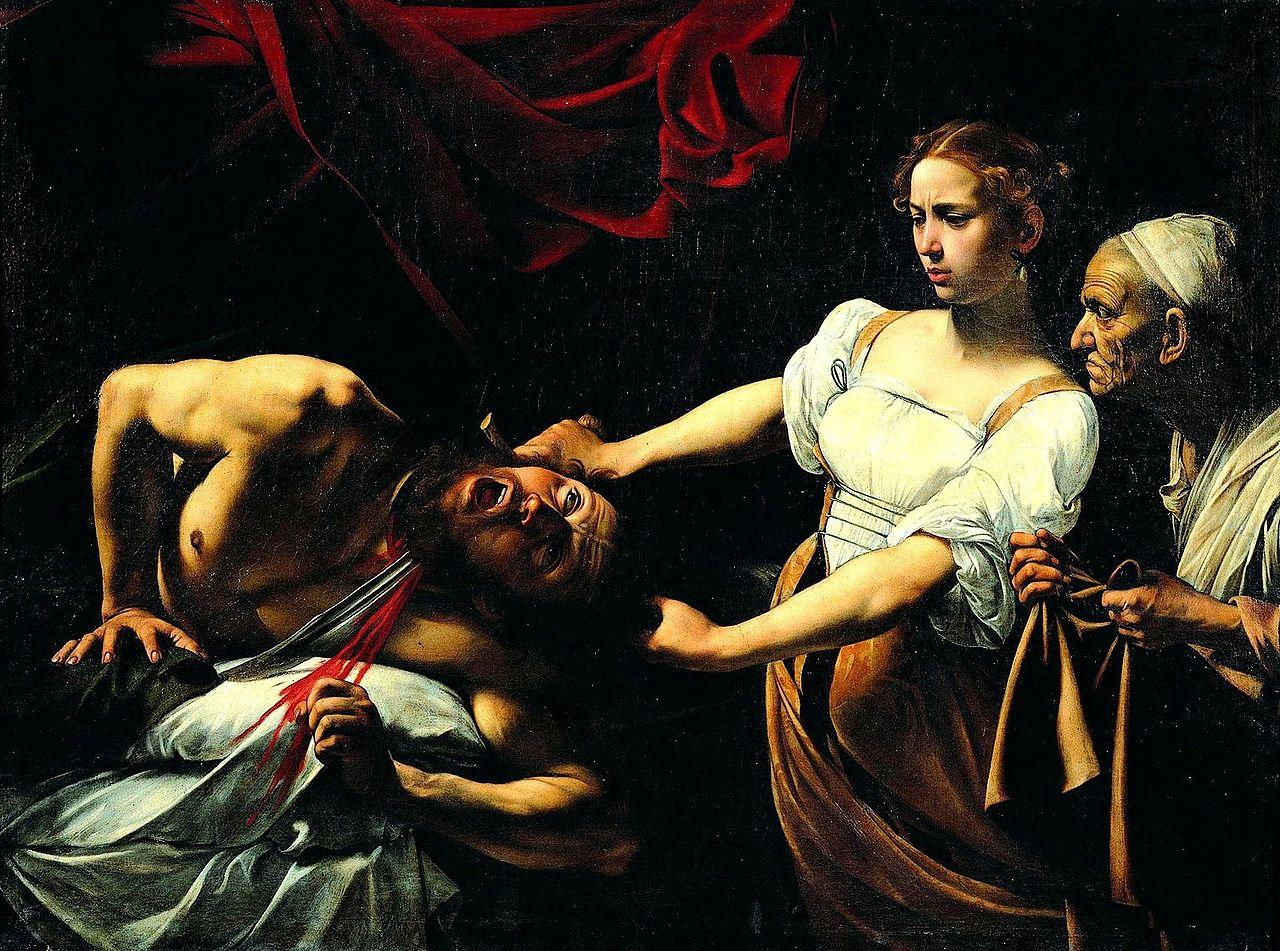 Caravaggio_-_Giuditta_e_Oloferne_(1598-1599)