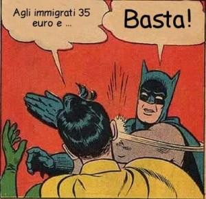 Basta (fesserie sui migranti)!