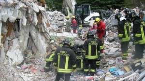 emergenza sisma ONG