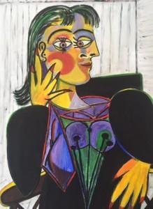 Dora Maar like Picasso