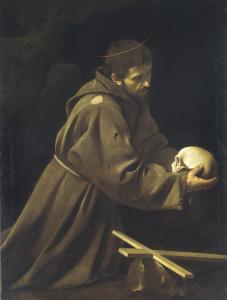 Caravaggio_-_St_Francis_in_Prayer_-_copia
