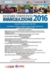 Dossier migranti 2016