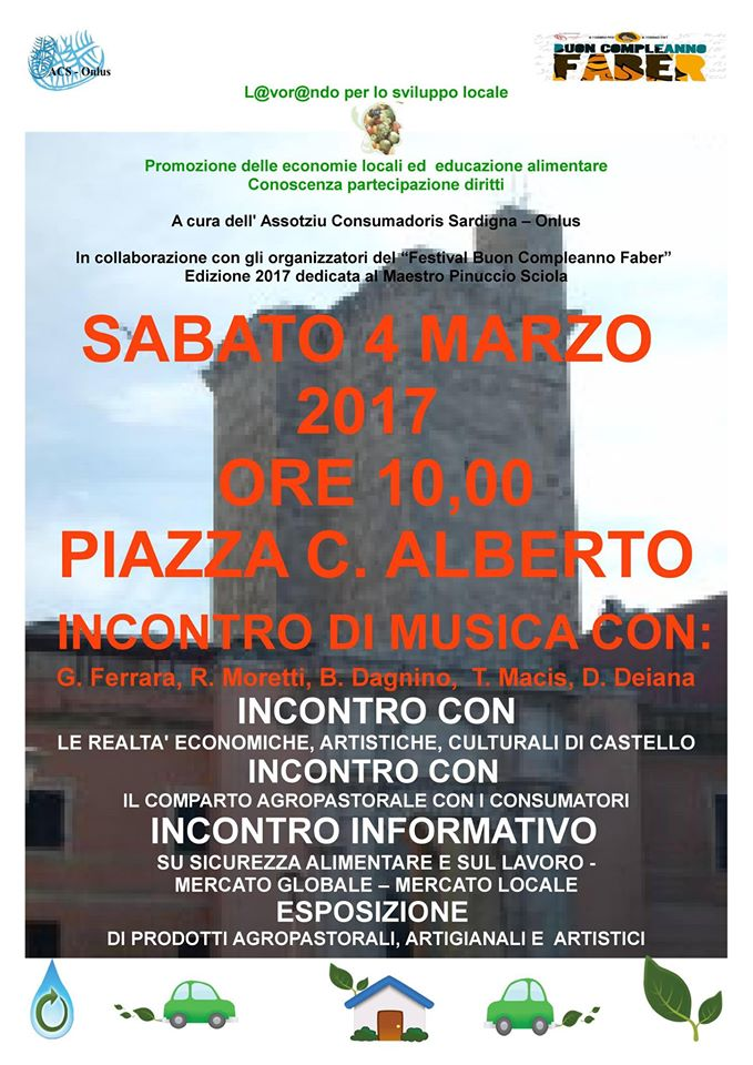 Evento Castello 4 marzo 17