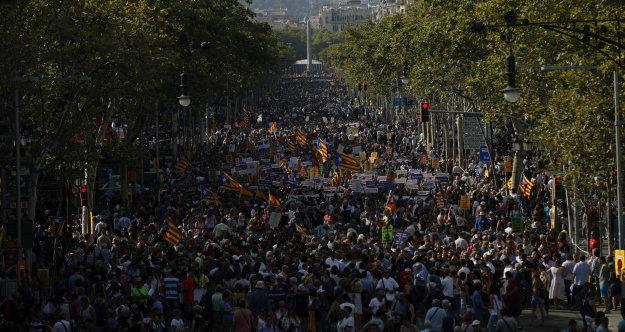 Barcellona, oggi manifestazione contro il terrorismo