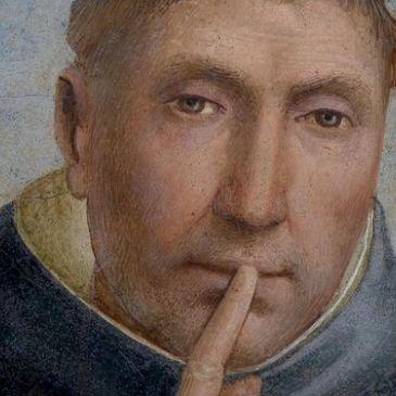 beato-angelico-san-pietro-martire-ingiunge-il-silenzio-dettaglio-affresco-ca-1442-lunetta-nel-chiostro-detto-di-santantonino-del-convento-di-san-marco-museo