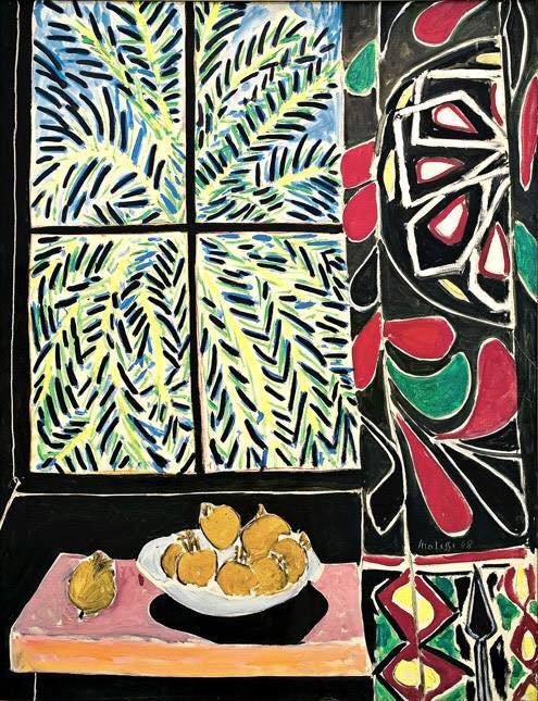 henri-matisse-interior-with-an-egyptian-curtain-1948